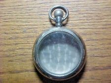 18S Philadelphia Silverode Leverset Open Face Pocket Watch Case