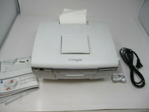 Lexmark P450 Digital Photo Inkjet Printer CD Burner  Very Good Pre-Owned Cond