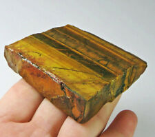 365.8Ct Natural African Yellow Blue Tigereye Facet Rough Specimen YHYB27