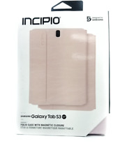 "Incipio Faraday Folio Magnetic Closure Case For Samsung Galaxy Tab S3 9.7"" Pink"