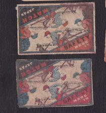 Ancienne étiquette Allumettes  Japon BN121493 Jockey Cheval