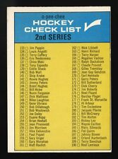 1969-70 OPC 1969 O-PEE-CHEE~CHECKLIST~#31~UNMARKED~UNTICKED~UNCHECKED
