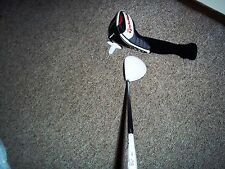 TAYLOR MADE R 11 DRIVER, STIFF, GRAPHITE, ADJUSTABLE HEAD, RH.