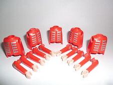 Playmobil Royal Garde Gardist Husar Oberkörper rot mit Armen 5581 5580