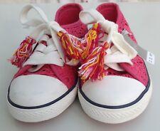 Next girls lace trainers size 10 kids