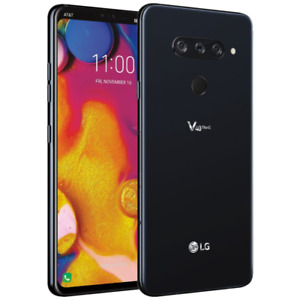 LG V40 ThinQ - 64GB - Aurora Black - Sprint Unlocked - Android Smartphone