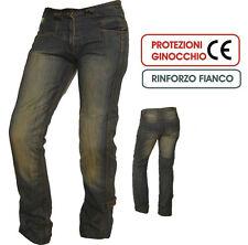 JEANS moto A-PRO RAMP con PROTEZIONI omologate CE pantaloni + OMAGGIO tg 34(48)!