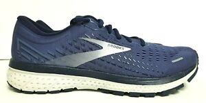 NEW- Brooks Ghost 13 Running Shoes Deep Cobalt/Grey/Navy Men's 11.5 D, MSRP $150