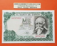 @SERIE 9B/923@ España 1000 Pesetas 1971 SC Pick 154R Echegaray UNC REPLACEMENT