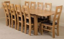 Oak Up to 10 Table & Chair Sets