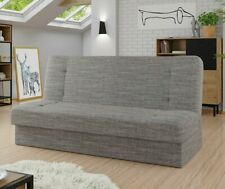 Sofa Likaon mit Bettkasten und Schlaffunktion Couch Wohnzimmer Polstersofa M24