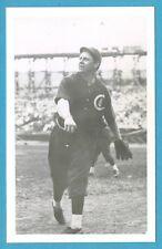 Mordecai Three Finger Brown (Cubs) Vintage Baseball Bordered Postcard GRN
