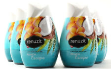 6 Renuzit Limited Edition Beach Escape Gel Air Freshener 7 Oz.