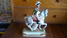 figurine bessieres soldier of napoleon german porcelain