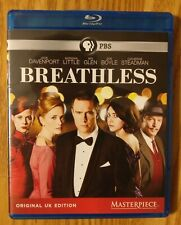 Masterpiece PBS Breathless Blu-ray 2 Disc 2014 Original UK Edition ITV BBC
