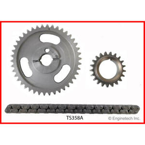Enginetech Timing Set TS358A; Replacement for 1965-1972 Ford 289-351W SBF