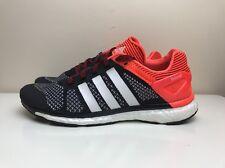 Adidas Adizero Prime Boost Para Hombre Zapatillas Para Correr Negro Rojo Reino Unido 7 EUR 40 2/3 M21417