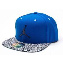Nike Air Jordan Logo Snap Back Cap Hat Soar Blue One Size