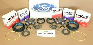 F250 F350 Excursion 98-04 Front Axle Seal Greasable U Joint Thrust Washer Kit