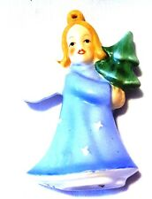 "Very Nice 3.5"" Goebel Porcelain Angel Ornament Window Hangar"