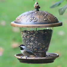 Wild Bird Hanging Seed Feeder, Durable Garden Decor