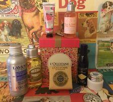 L'Occitane Gift 7 Pcs New Holiday Set -Cream,soap,oil,toner etc.