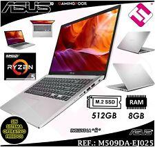 PORTATIL 15,6 ASUS RYZEN 5 3500U 512GB SSD 8GB FREEDOS RADEON VEGA 8 TELETRABAJO