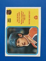 Wayne Gretzky Scoring Leader 1982-83 #243 O-Pee-Chee Hockey Card Edmonton Oilers