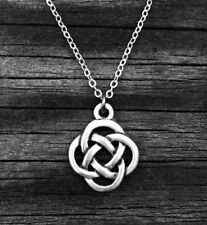 18x15mm pendant Irish Celtic Eternity Knot Necklace Minimalist Scottish Jewelry