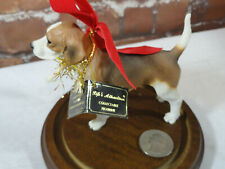 "Life Attraction *standing alert *BEAGLE*  Cute 3"" tall ~figurine Great condition"