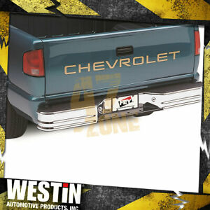 For 1989-1991 Chevrolet R3500 SureStep Universal Rear Bumper