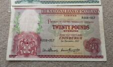 More details for pcgs graded 40 e/f the national bank of scotland £20 a 008-357 1st november 1957