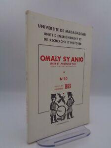 Revue OMALY SY ANIO N° 10 de 1979 / articles sur Madagascar