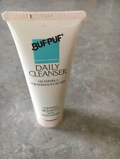 Vintage 1989 Buf Puf Daily Cleanser Gel 2.5 oz Normal to Oily approx 60% full
