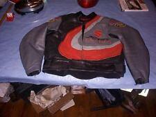 Vanson Suzuki Leather motorcycle Biker Jacket size 46 Made in USA