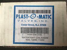 Plast-O-Matic BSDAM050T-NC-PP Shut Off Valve