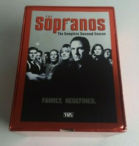 The Sopranos - The Complete Second Season (VHS, 2001, 5-Tape Set)