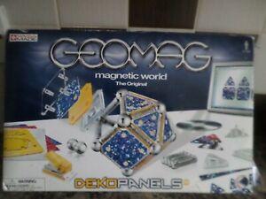 GEOMAG MAGNETIC WORLD DEKO PANELS COMPLETE FREE UK POST