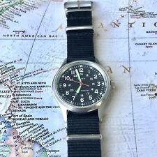 Timex J. Crew Weekender Watch On A Nato Strap Fresh Battery