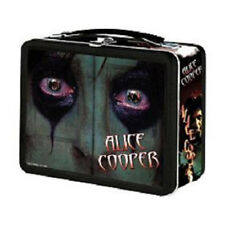 NECA ALICE COOPER Embossed METAL LUNCHBOX Tin Tote 2000 Lunch box  NEW