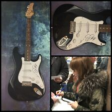 GFA Rilo Kiley Rock Star * JENNY LEWIS * Signed Electric Guitar PROOF COA