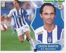 ERSEN MARTIN TURKEY RC.RECREATIVO STICKER LIGA ESTE 2009 PANINI