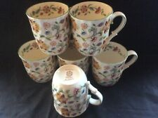Set of 6 Green Band haddon hall Mugs of Excellent QUALity Romany Interest G