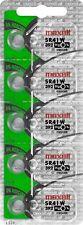100 pcs Maxel SR41W SG3 SR41 392 V392 Silver Oxide Watch Battery