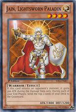 3x Yugioh SDLI-EN007 Jain, Lightsworn Paladin Common Card