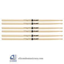 PROMARK TX2BW Drum Sticks 2B Hickory Wood Tip 3 PAIRs