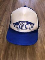 Vintage Vans Trucker Hat Snapback Otto