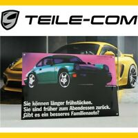 ORIG. PORSCHE Emailleschild 40x60cm Porsche Classic 911 964 / Enamel sign