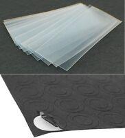 """20 pcs """"Clear Transparent"""" 18650 Battery PVC Heat Shrink Wraps + 10 Insulators"""