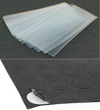 """10 pcs """"Transparent Clear"""" 18650 PVC Battery Heat Shrink Wraps + 5 Insulators"""